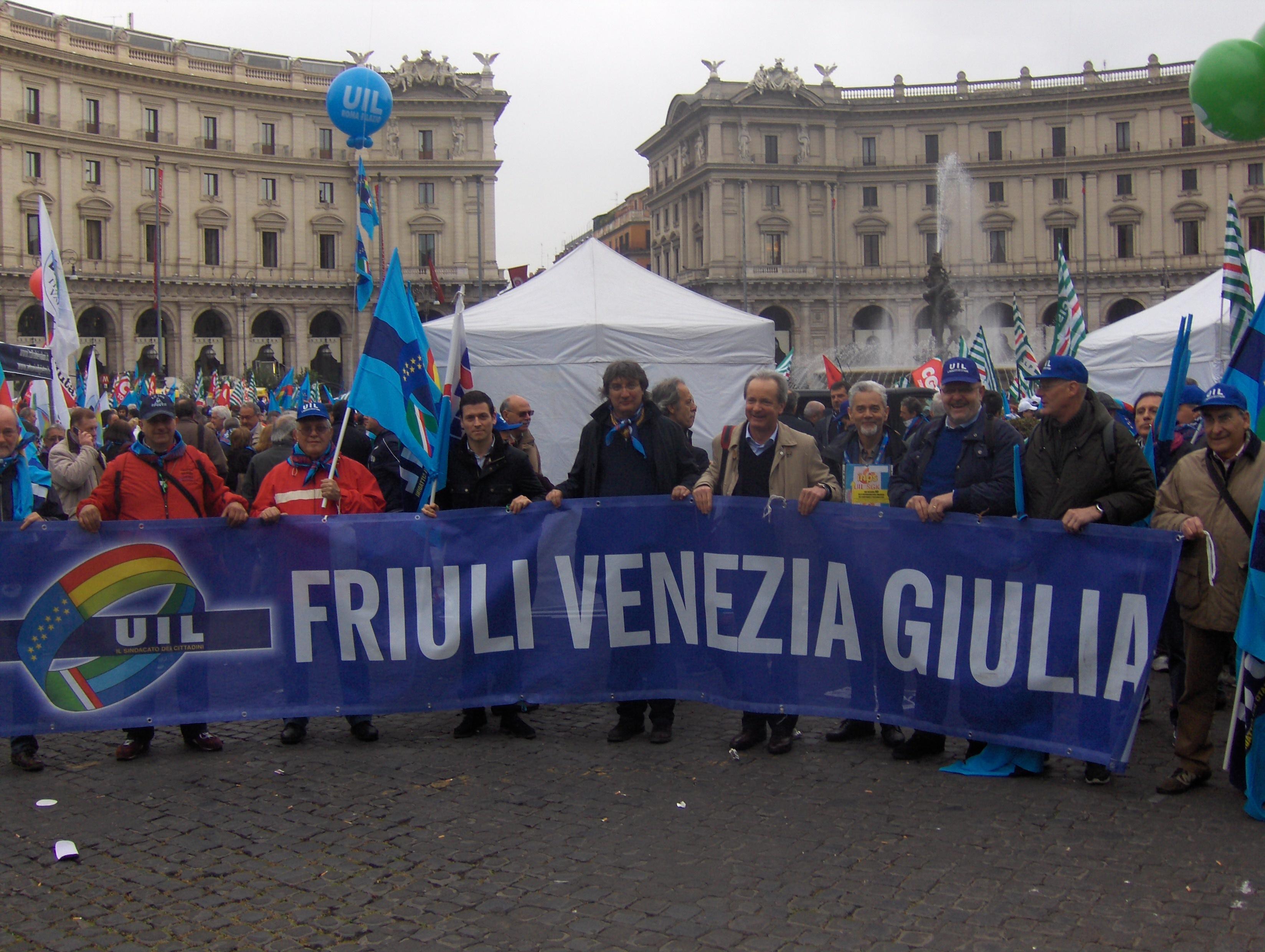 Manifestazione esodati – A Roma anche una delegazione del Friuli Venezia Giulia