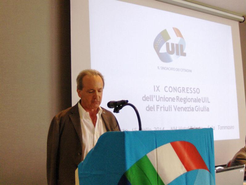 Giacinto Menis riconfermato alla guida della Segreteria Generale UIL del Friuli Venezia Giulia